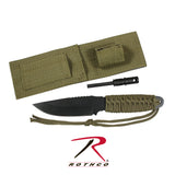 Rothco Paracord Knife With Fire Starter - Hawkins Footwear and Sports  - 5