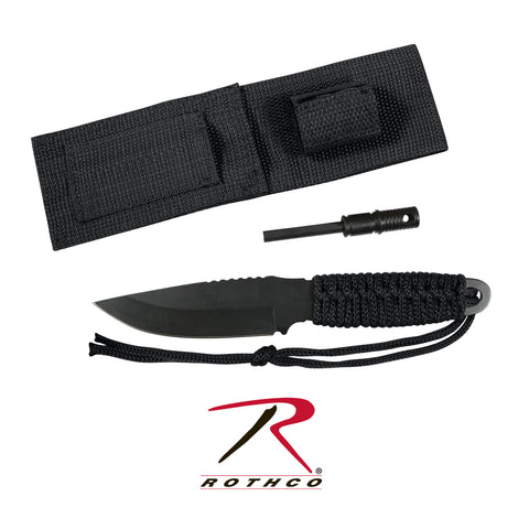 Rothco Paracord Knife With Fire Starter - Hawkins Footwear and Sports  - 1