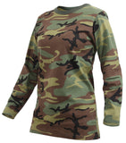 Rothco Womens Long Sleeve Camo T-Shirt - Hawkins Footwear and Sports  - 3