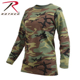 Rothco Womens Long Sleeve Camo T-Shirt - Hawkins Footwear and Sports  - 1