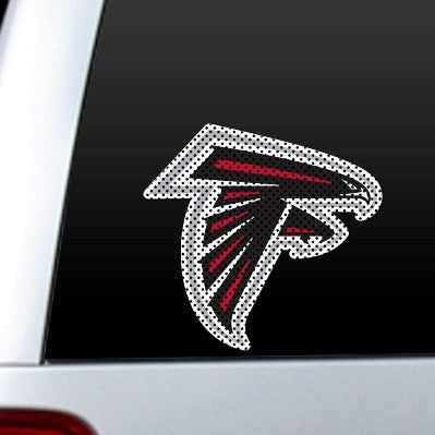 Altanta Falcons Perforated Diecut Window Film