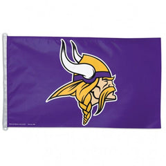 Minnesota Vikings Flag - Team 3' X 5' - Hawkins Footwear and Sports  - 1