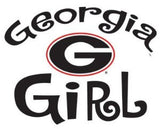 "Georgia, University of -Girl Multi-Use Decal 3"" x 4"" - Hawkins Footwear and Sports  - 2"