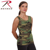 Rothco Womens Camo Stretch Tank Top - Hawkins Footwear and Sports  - 1
