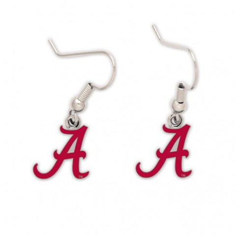 Alabama Crimson Tide A Logo NCAA Dangle Earrings