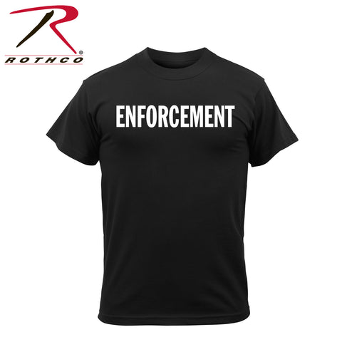 *Rothco 2-Sided Enforcement T-Shirt