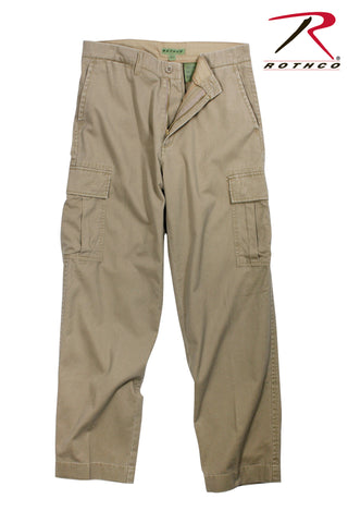 Rothco Vintage 6-Pocket Flat Front Fatigue Pants - Hawkins Footwear and Sports  - 2