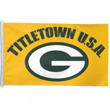 Green Bay Packers Titletown Flag - Team 3' X 5' - Hawkins Footwear and Sports  - 1