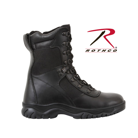 "Rothco Forced Entry 8"" Tactical Boot With Side Zipper 5053"