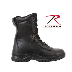 "Rothco Forced Entry 8"" Tactical Boot With Side Zipper 5053 - Hawkins Footwear and Sports  - 1"