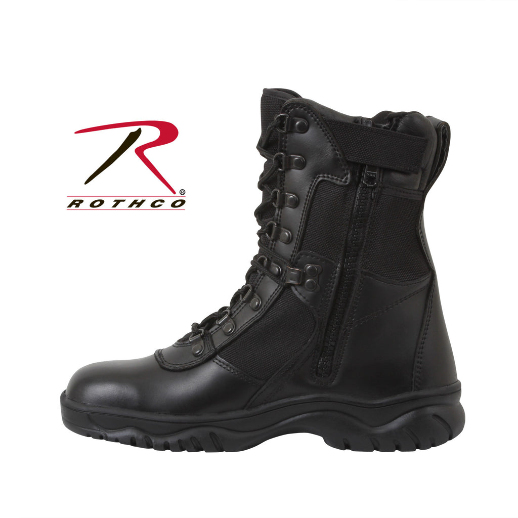 "Rothco Forced Entry 8"" Tactical Boot With Side Zipper 5053 - Hawkins Footwear and Sports  - 3"