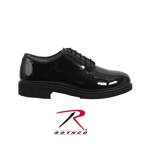 Rothco  Uniform Hi-Gloss Oxford 5055 (also in Wide) - Hawkins Footwear and Sports  - 1