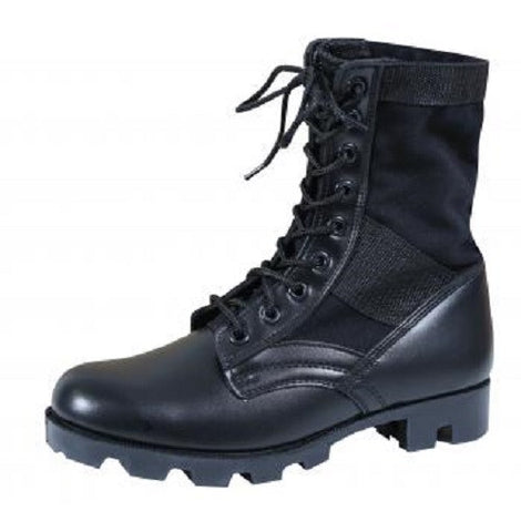 Rothco G.I. Type Black Steel Toe Jungle Boot - Hawkins Footwear and Sports  - 1