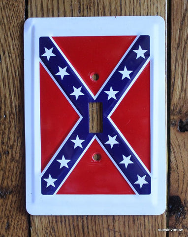 Battle Flag Light Switch Cover