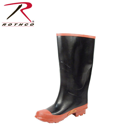 Rothco 15.5 Inch Rubber Rain Boot - Hawkins Footwear and Sports