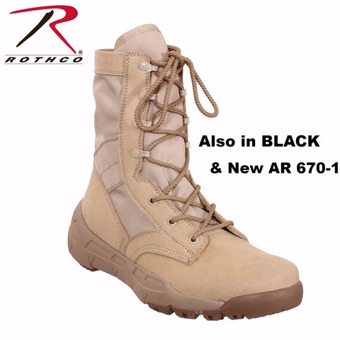 Rothco V-Max Lightweight Tactical Boot - Hawkins Footwear and Sports  - 1
