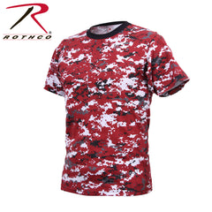 Rothco Digital Camo T-Shirt (11 Colors) - Hawkins Footwear and Sports  - 4