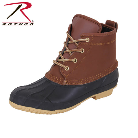 "NEW Rothco 6"" All Weather Duck Boots"