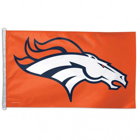 Denver Broncos Flag - Team 3' X 5' - Hawkins Footwear and Sports  - 1