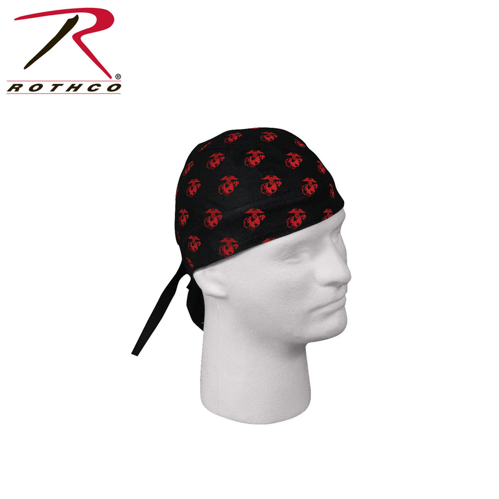 Rothco USMC Globe & Anchor Pattern Headwrap - Hawkins Footwear and Sports