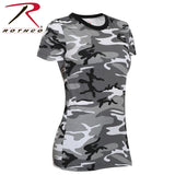 Rothco Womens Long Length Camo T-Shirt (8 Colors)