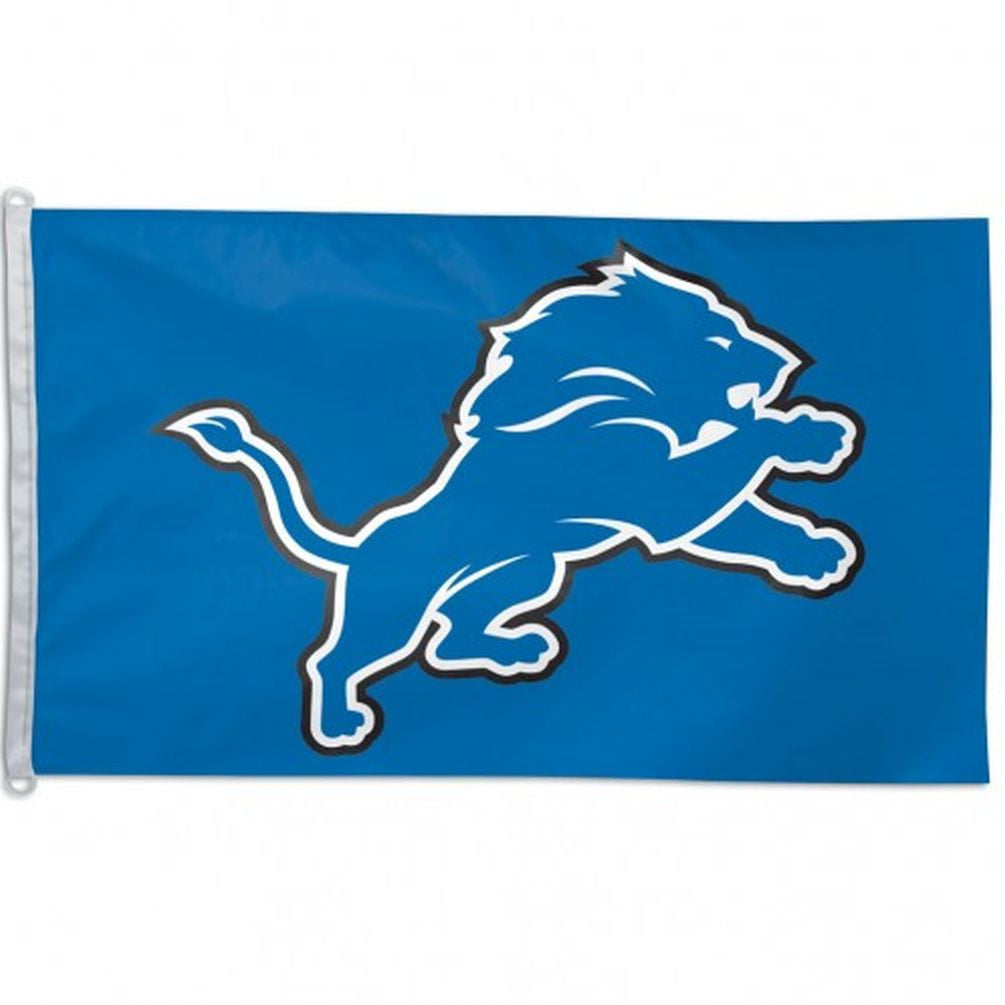 Detroit Lions Flag - Team 3' X 5 - Hawkins Footwear and Sports  - 1