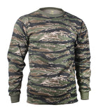Rothco Long Sleeve Men Camo T-Shirt - Hawkins Footwear and Sports  - 5