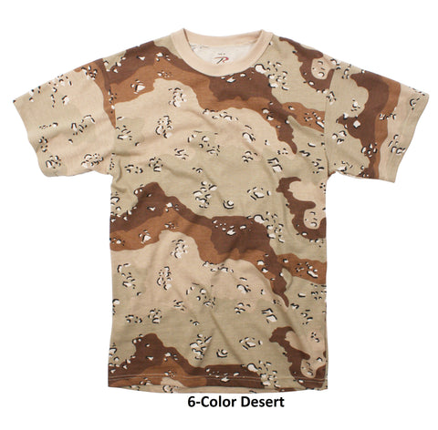 Rothco Men Camo T-Shirts - Hawkins Footwear and Sports  - 2