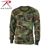 Rothco Long Sleeve Men Camo T-Shirt - Hawkins Footwear and Sports  - 3