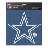 "Dallas Cowboys Perforated Vinyl Decal 12"" x 12"""