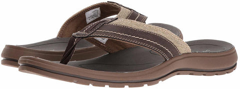 Dockers Men's Redding Canvas Slip-on Thong Flip-Flop