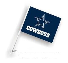 "Dallas Cowboys Car Flag 11.5"" X 14.5"" - Hawkins Footwear and Sports  - 1"