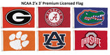 Premium 2'X 3' NCAA Flags