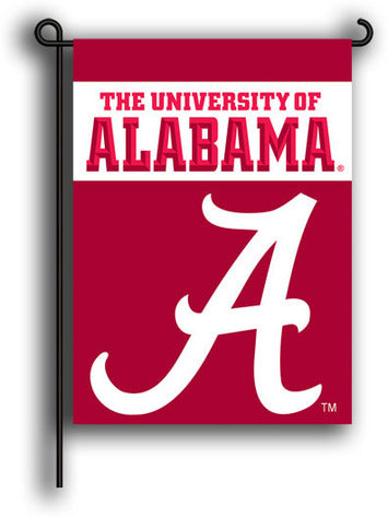 Alabama Crimson Tide  13X18 2-Sided Garden Flag BSI