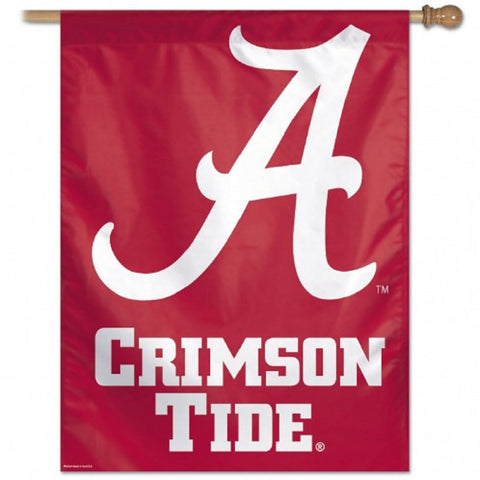 "Alabama, University of Vertical Flag 27"" x 37"" - Hawkins Footwear and Sports"
