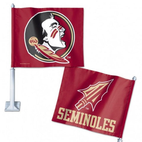 "Florida State University Car Flag 11.75"" X 14"" - Hawkins Footwear and Sports  - 1"