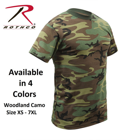 Rothco Men Camo T-Shirts - Hawkins Footwear and Sports  - 1