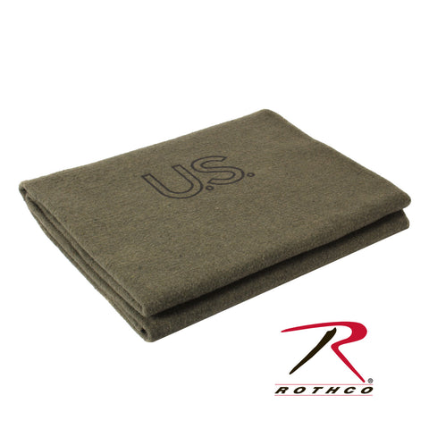 Rothco U.S.Wool Blanket - Hawkins Footwear and Sports  - 1