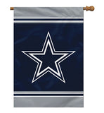 "28"" X 40"" Dallas Cowboys 1-sided House Flag"
