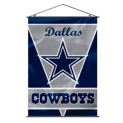 "28"" X 40"" Dallas Cowboys Wall Banner"