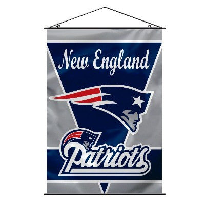 "28"" X 40"" New England Patriots Wall Banner"