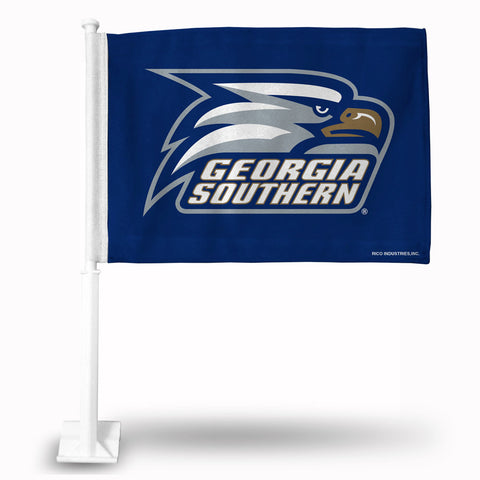 "Georgia Southern 11"" X 18"" 2 Sided Car Flag"