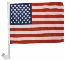 "11"" x 17"" Car Flag - USA"