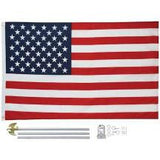 American Flag Kit W/ Pole & Bracket