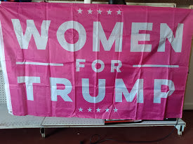 Woman For Trump 2020 Poly 3'x5' Flag
