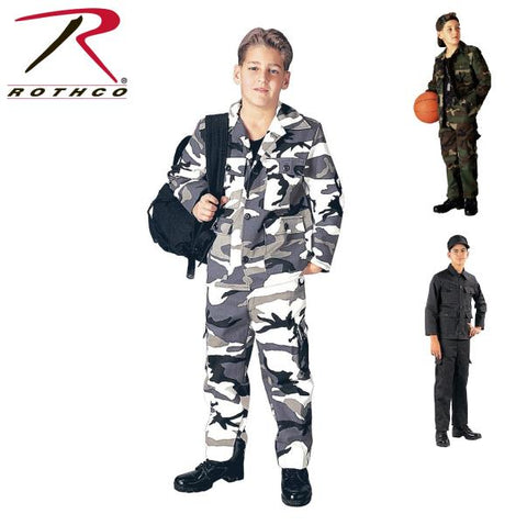 Youth Camo BDU Pants