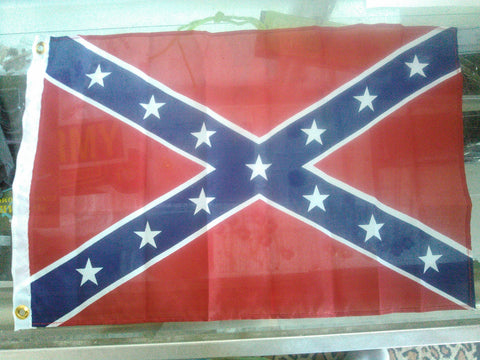 "12""x 18"" Confederate Battle Flag - Hawkins Footwear and Sports"