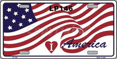Patriotic License Plates (Many Styles) - Hawkins Footwear and Sports  - 9