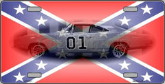 Confederate License Plates (Many Styles) - Hawkins Footwear and Sports  - 16