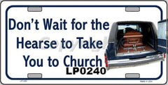 Religious/God License Plates (Many Styles) - Hawkins Footwear and Sports  - 7